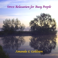 stress relaxation audio cd cover